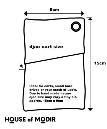 djac size chart