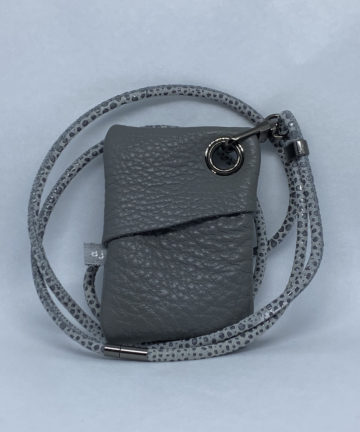 djac grey leather usb
