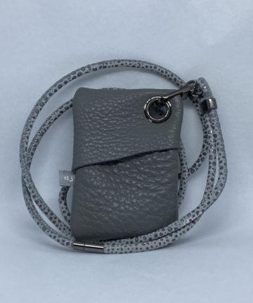 djac grey leather usb