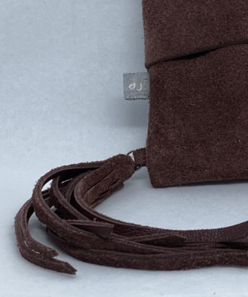 djac Blood Hide Leather Lanyard
