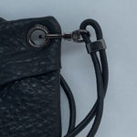 djac Black Hide Leather Lanyard .HEIC