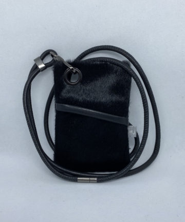 djac Goat Fur Leather Lanyard