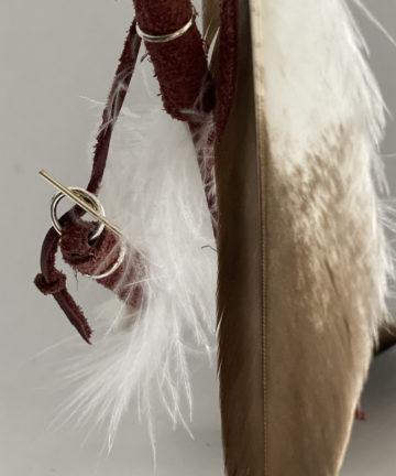 Eagle Goose Feather Totem